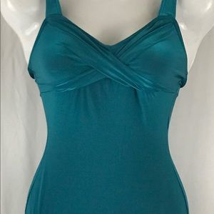 Other - One piece aqua blue swimming suit
